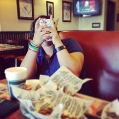 Photo taken at Wingstop by Abygail B. on 4/19/2013