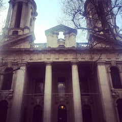Photo taken at St. John's, Smith Square by Rusty D. on 4/8/2015