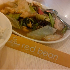 Photo taken at Red Bean by evan on 1/18/2013
