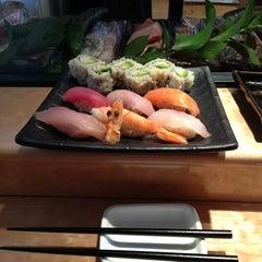 Photo taken at Sushi Ran by gennarator on 5/31/2013