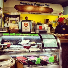 Photo taken at Sarcone's Deli by Kate 🍸 E. on 10/9/2012