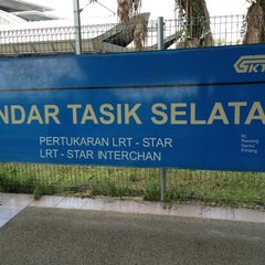 Photo taken at KTM Line - Bandar Tasik Selatan Station (KB04) by Edwin E. on 2/23/2013