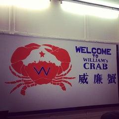 Photo taken at William's Crab Restaurant by Lazer W. on 11/2/2013
