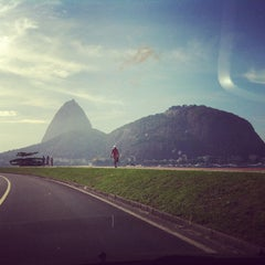 Photo taken at Enseada de Botafogo by Marcelo B. on 3/13/2013
