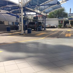 Photo taken at Rapidito Car wash by Priscilla J. on 10/7/2013