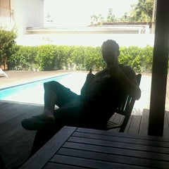 Photo taken at San Marino Hotel by Marcelo V. on 9/26/2013