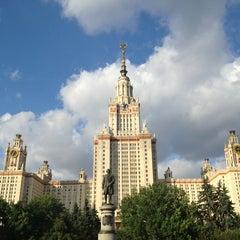Photo taken at МГУ им. М. В. Ломоносова by Alena P. on 7/26/2013