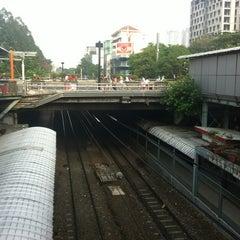Photo taken at Stasiun Sudirman by Kika R. on 10/27/2012