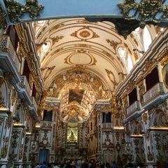 Photo taken at Igreja Nossa Senhora do Carmo da Lapa do Desterro by Nanne M. on 12/15/2014