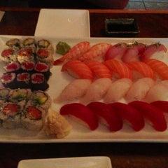 Photo taken at Mikaku Sushi by qwertney on 6/18/2013