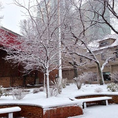 Photo taken at West Campus - Boston University by Zachary on 3/7/2013