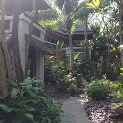 Photo taken at Muang Kulaypan Hotel by Maria M. on 2/22/2014