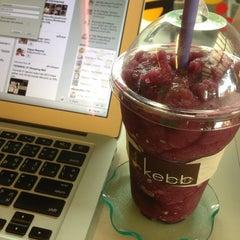 Photo taken at Kebb Café by Than B. on 5/18/2014