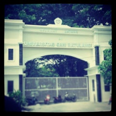 Photo taken at Universitas Sam Ratulangi (UNSRAT) by Djuliana K. on 6/19/2013
