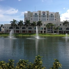 Photo taken at Florida International University by Michael on 9/24/2012