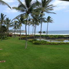 Photo taken at Grand Hyatt Kauai Resort and Spa by Daniel on 4/7/2013