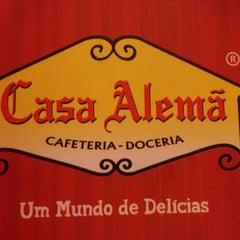 Photo taken at Casa Alemã by Aline M. on 9/14/2012