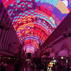 Photo taken at Fremont Street Experience by Robert on 7/19/2013
