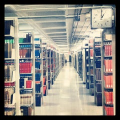 Photo taken at Herman B Wells Library by Megan D. on 7/24/2013