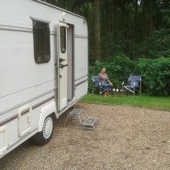 Photo taken at Sandringham Camping and Caravanning Club Site by David D. on 8/10/2013