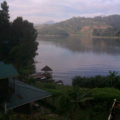 Photo taken at Bunyonyi Overland Resort by David D. on 2/5/2013