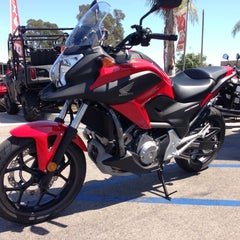 Photo taken at Huntington Beach Honda Motorcycles by Jim Techfrog A. on 8/22/2013