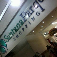 Photo taken at Santana Parque Shopping by Daniel R. on 12/16/2012