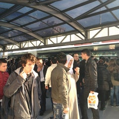 Photo taken at Avcılar Metrobüs Durağı by ahmet s. on 2/12/2013
