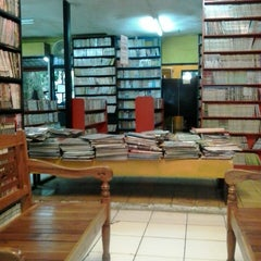 Photo taken at Pitimoss Fun Library by wahyu s. on 1/15/2014