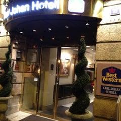Photo taken at Best Western Karl Johan Hotell by Alexander on 11/10/2012