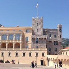 Photo taken at Palais Princier de Monaco by Yana on 6/6/2013