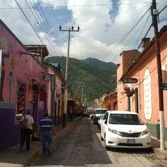 Photo taken at Ajijic by Juan de Dios A. on 7/20/2013