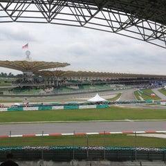 Photo taken at Sepang International Circuit (SIC) by Sir _. on 10/13/2013