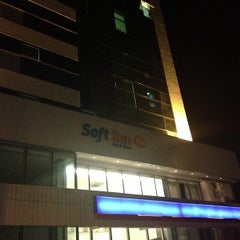 Photo taken at Soft Inn Plus by Tiago G. on 10/10/2012