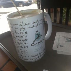 Photo taken at Caribou Coffee by Mansour on 2/13/2013