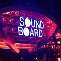 Photo taken at Sound Board by Christen O. on 3/24/2013