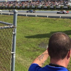 Photo taken at Pocono Raceway by Donald on 6/7/2015