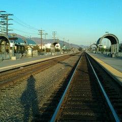 Photo taken at Metrolink Burbank-Bob Hope Airport Station by James H. on 9/18/2012