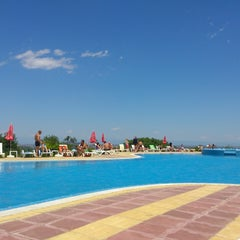 Photo taken at Spa Hotel Exotic Markovo by Petar P. on 5/26/2013