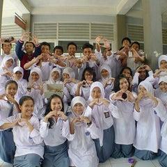 Photo taken at SMAN 2 Tangerang Selatan by Lasma K. on 10/2/2013