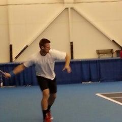 Photo taken at Atkins Tennis Center by Nathaniel B. on 11/16/2013