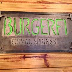 Photo taken at Burger Fi by Michael on 12/22/2012