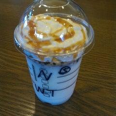 Photo taken at Starbucks Coffee 草津国道1号店 by Marie M. on 4/24/2013