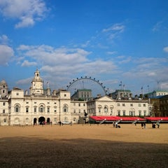 Photo taken at London 2012 Horse Guards Parade by Ian on 5/15/2014