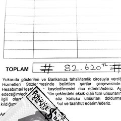 Photo taken at Türkiye İş Bankası A.Ş. Sirkeci Ticari Şubesi by Ali Kerem on 7/9/2014