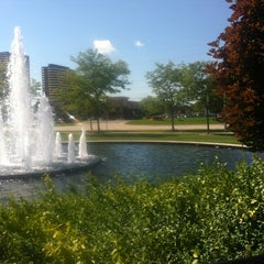 Photo taken at Southfield Public Library by Cinthya on 9/12/2013