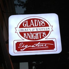 Photo taken at Gladys Knight's Signature Chicken & Waffles by Shawn M. on 10/13/2012