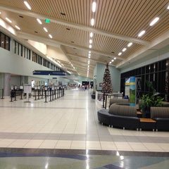 Photo taken at Northwest Florida Beaches International Airport (ECP) by Marina on 12/28/2012