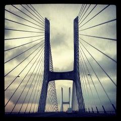 Photo taken at Ponte Vasco da Gama by Miguel R. on 7/15/2013