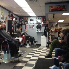 Photo taken at Ragged Ass Barbers by Hughie G. on 4/2/2013